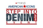 Levis 501 Jeans Step Into Denim event at Macy's Lenox Square