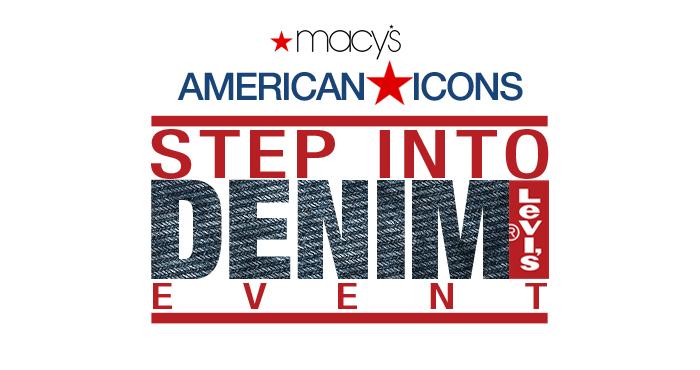 Levis 501 Jeans Step Into Denim event at Macy's Lenox Square