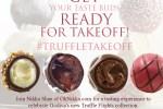 GODIVA Truffle Flights #TruffleTakeoff tasting event