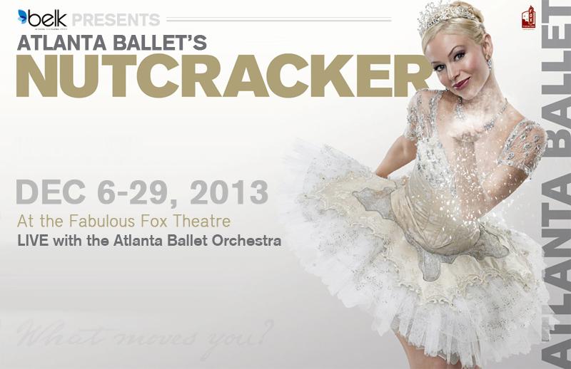 Atlanta Ballet's Nutcracker 2013