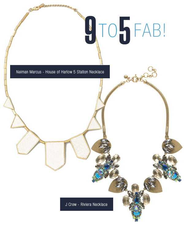 Statement Necklaces for any Occassion: On the Job