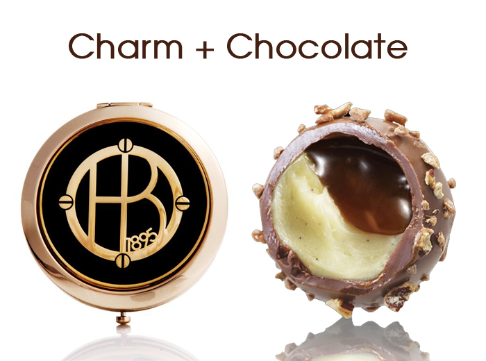 Charm + Chocolate: Hendri Bendel and Godiva holiday shopping