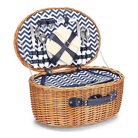 C Wonder Chevron Picnic Basket