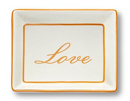 C Wonder Porcelain Word Plate