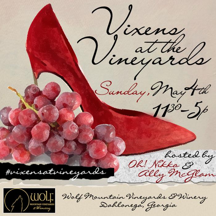 Vixens at the Vineyards