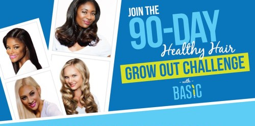 Basic Hair Care - 90 Day Grow Out Challenge