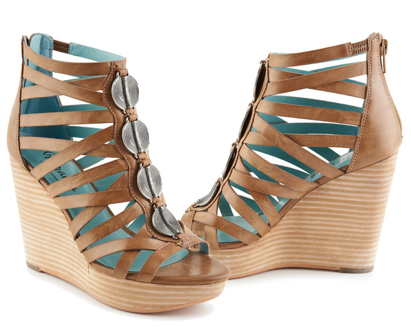 Santion wedge sandal by Miranda Lambert