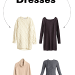 Cold Weather Style: Sweater Dresses
