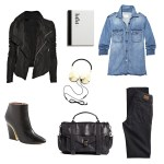 On Trend: Denim & Leather