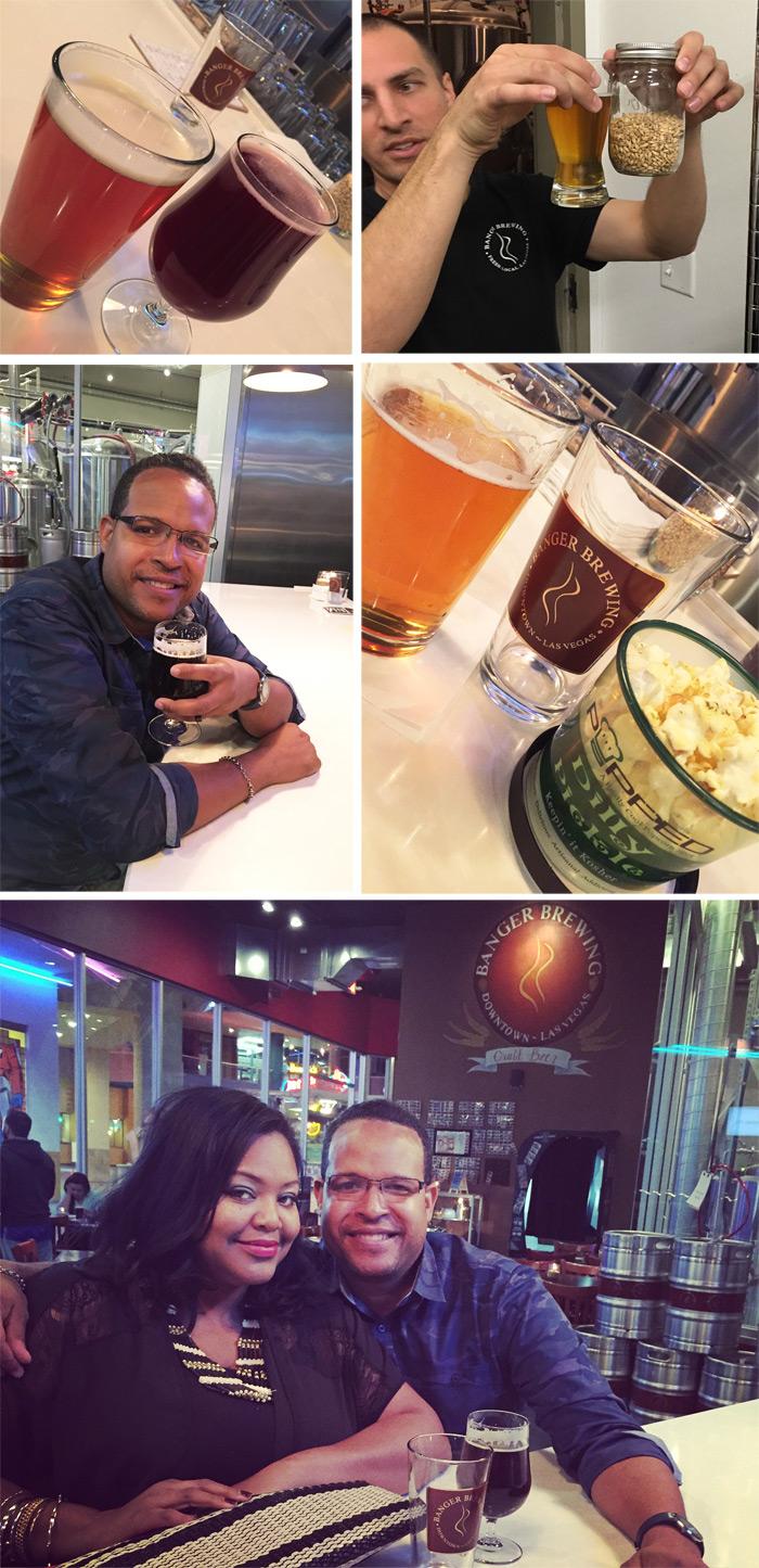 Bangers Brewery Fremont Street Las Vegas