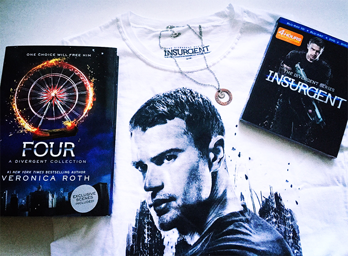 Divergent Series: Insurgent movie on DVD