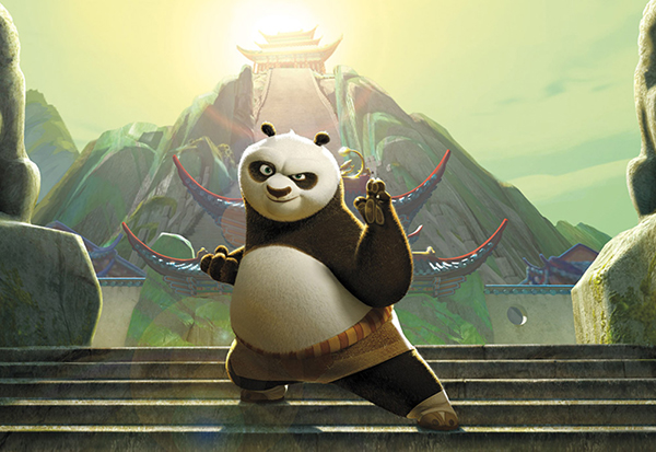 Kung Fu Panda DVD collection