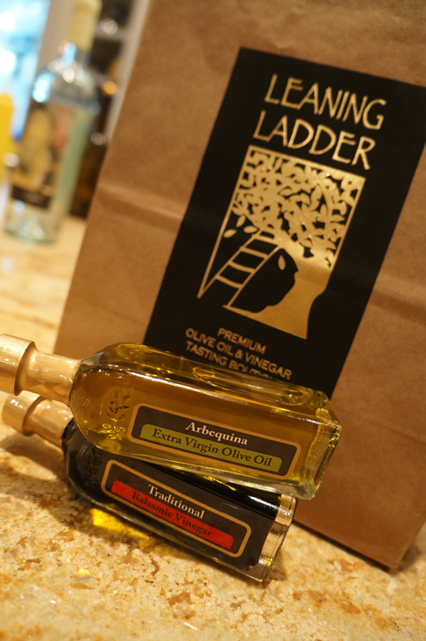 Leaning Ladder Premium Olive Oil private tasting
