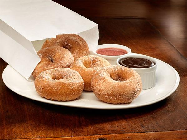 Smokey Bones Bar & Fire Grill Hot Bag O' Donuts