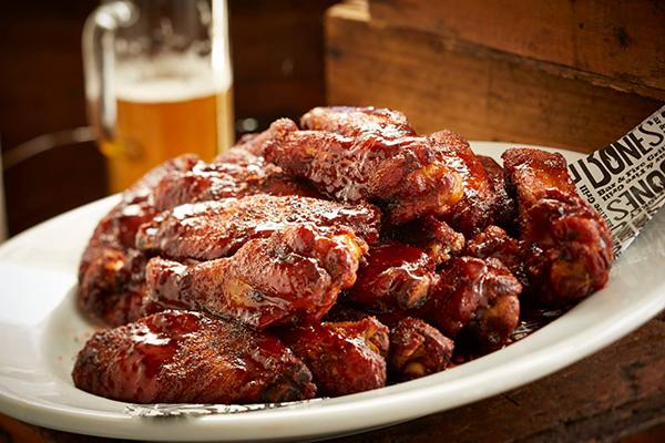 Smokey Bones Bar & Fire Grill Smoked Wings