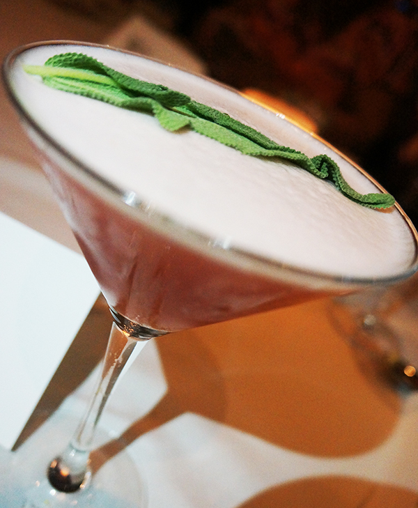 Pomegranate Sage Martini Bonefish Grill