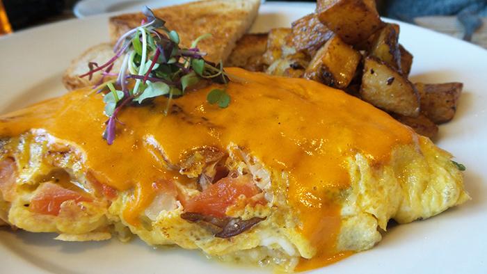 South Main Kitchen Garden Omelette