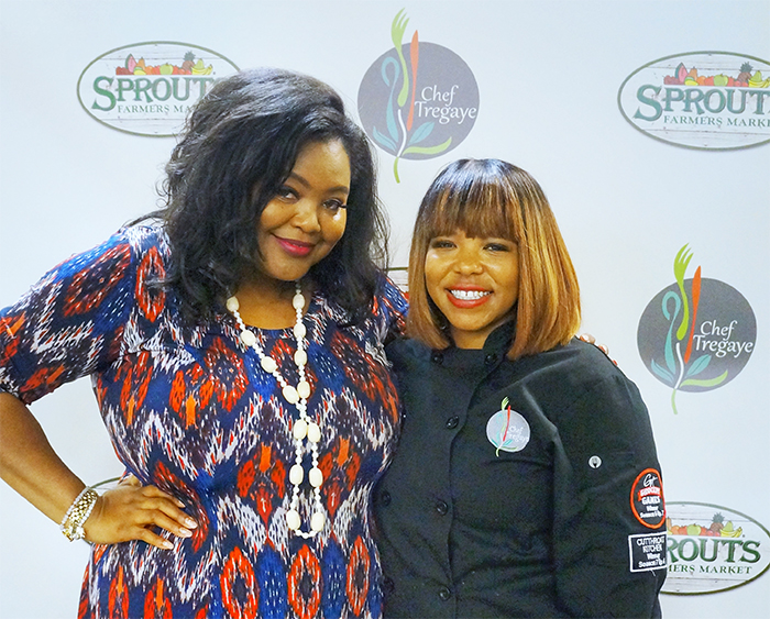 Cooking with Food Network Star Chef Tregaye Fraser