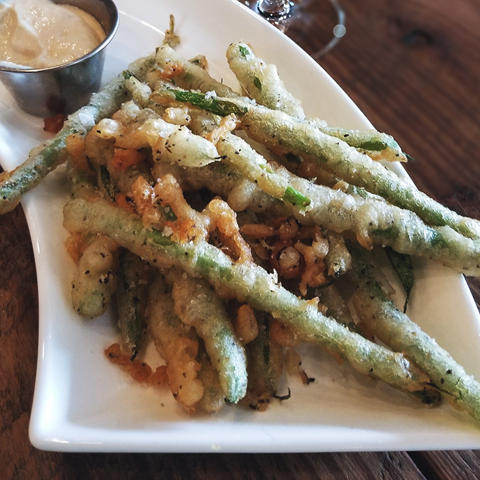 Vino Venue Fried Green Beans