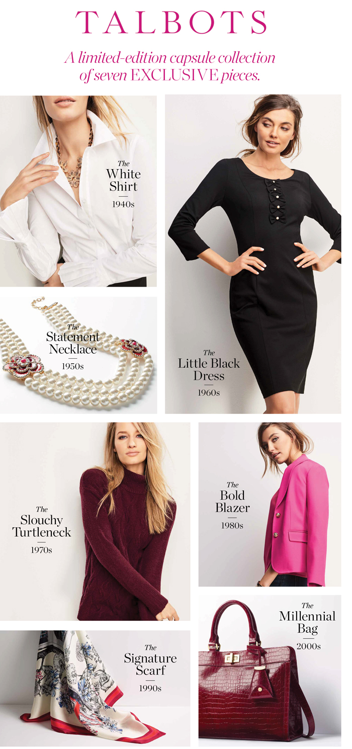 Talbots 70th Anniversary Capsule Collection