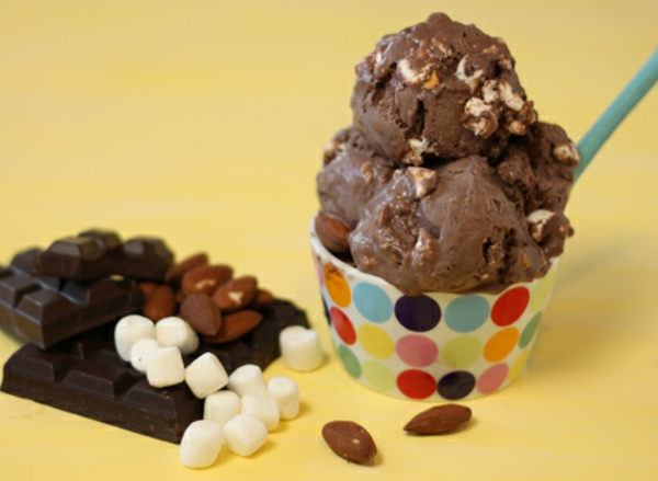 Image result for rocky road ice cream