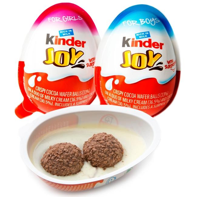 Kosher Kinder Joy Chocolate Eggs Chocolate Candy