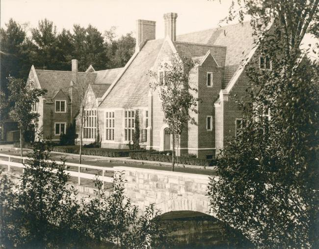 A photo of Hargate from when it first opened over 80 years ago. Today is the official opening of the newly renovated Hargate in its new function as community center to St. Paul's School. #ohrstromlibrary #ohrstromlibrarydigitalarchives #throwbackthursday #throwback #hargate #communitycenter #iamsps