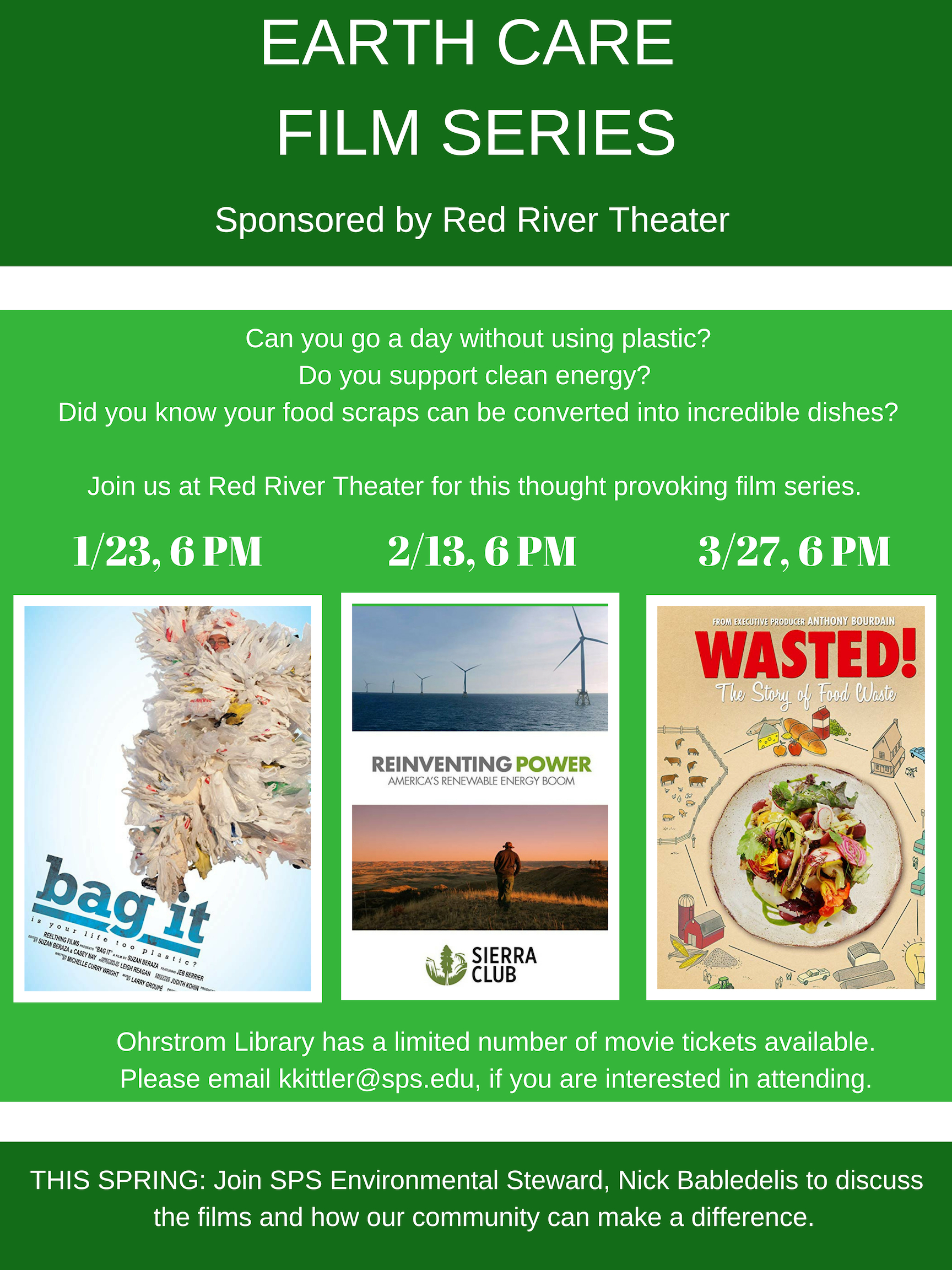 Earth Care Film Series – Ohrstrom Blog