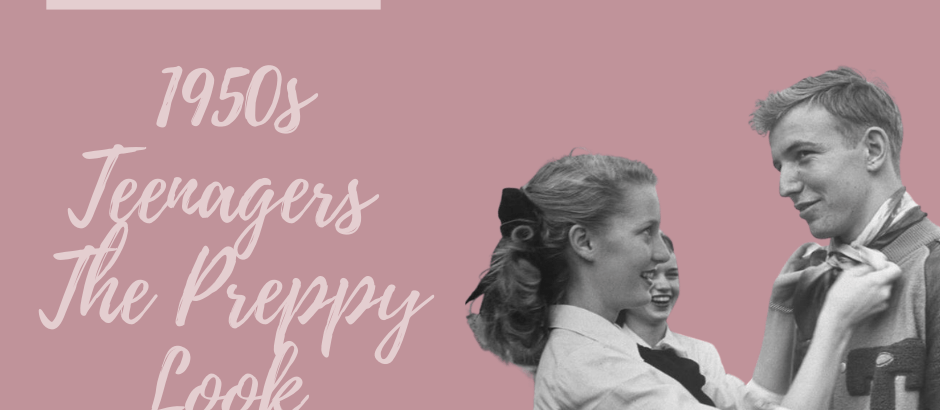 What they Wore – Teenagers – 1950s Preppy