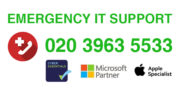 Emergency IT Support London