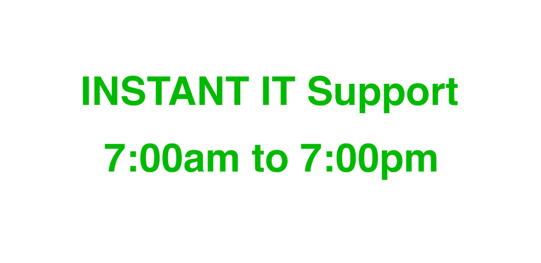 Instant IT Support Services