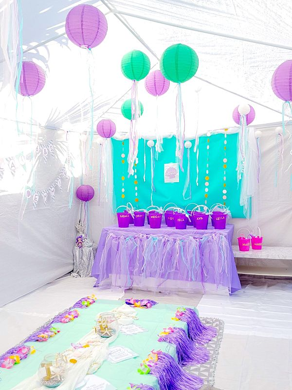 DIY MERMAID PARTY