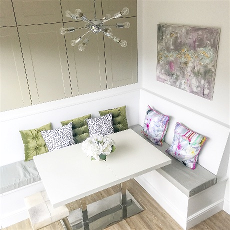 Kitchen Banquette Dimensions And Storage Ideas Oh So Kel