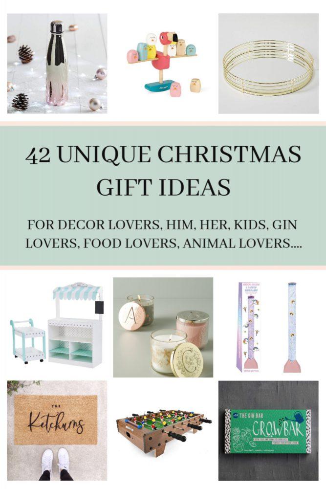 42 UNIQUE CHRISTMAS GIFT IDEAS