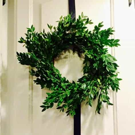 DIY // BOXWOOD WREATHS