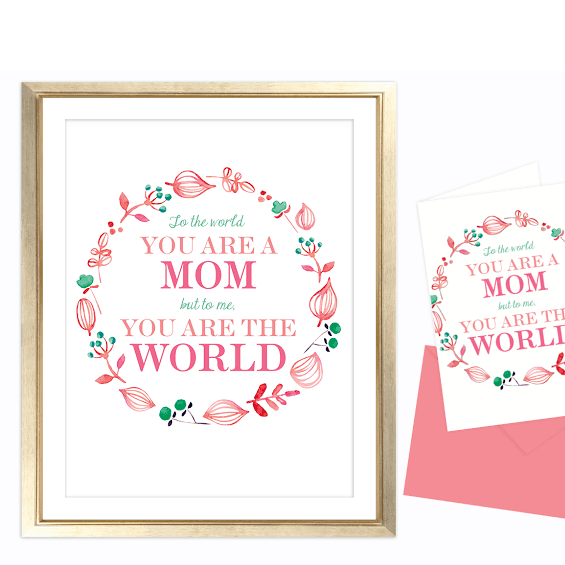 FREEBIES  // MOTHER'S DAY