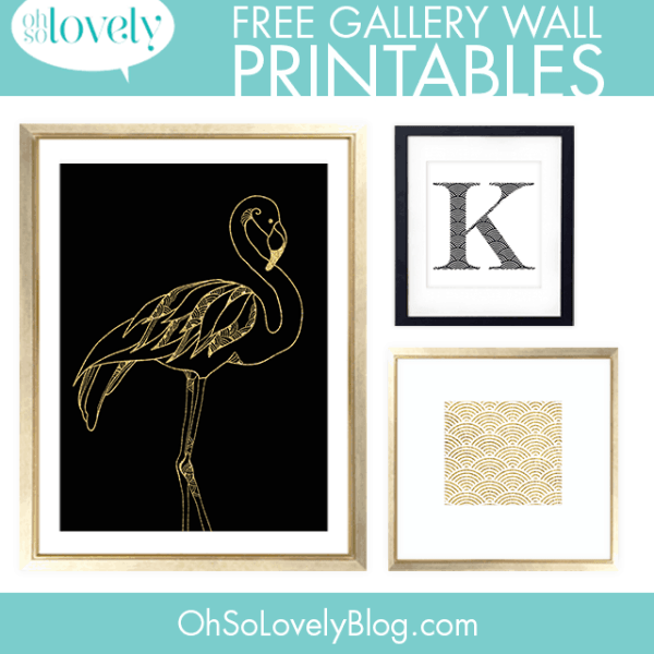 FREEBIES  //  GALLERY WALL PRINTABLES