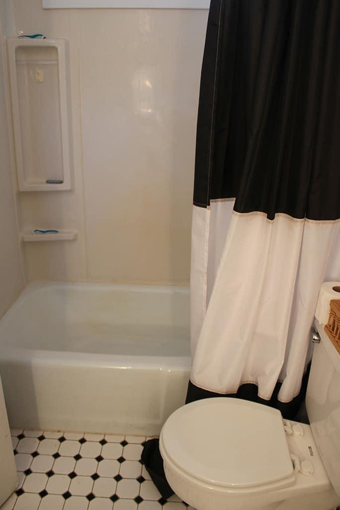 DIY Guest Bathroom Remodel - Before Photos