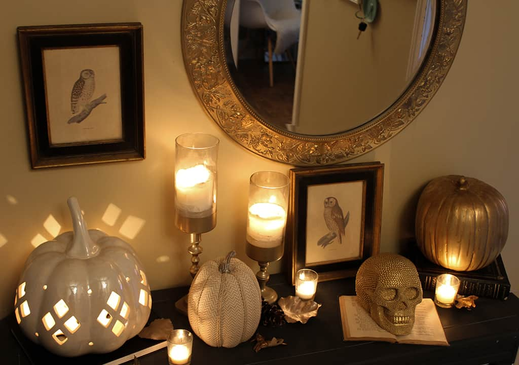 Last-minute DIY halloween decor ideas