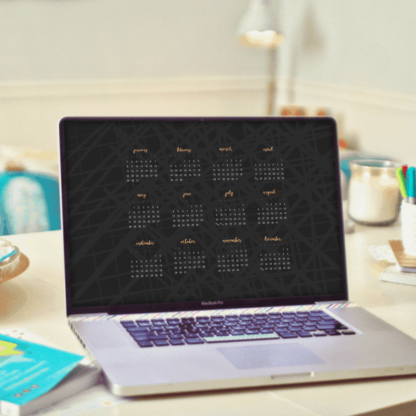 FREEBIES  //  2017 DESKTOP WALLPAPER CALENDARS