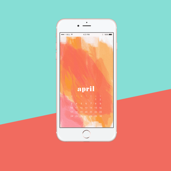 FREEBIES  //  APRIL TECH WALLPAPERS