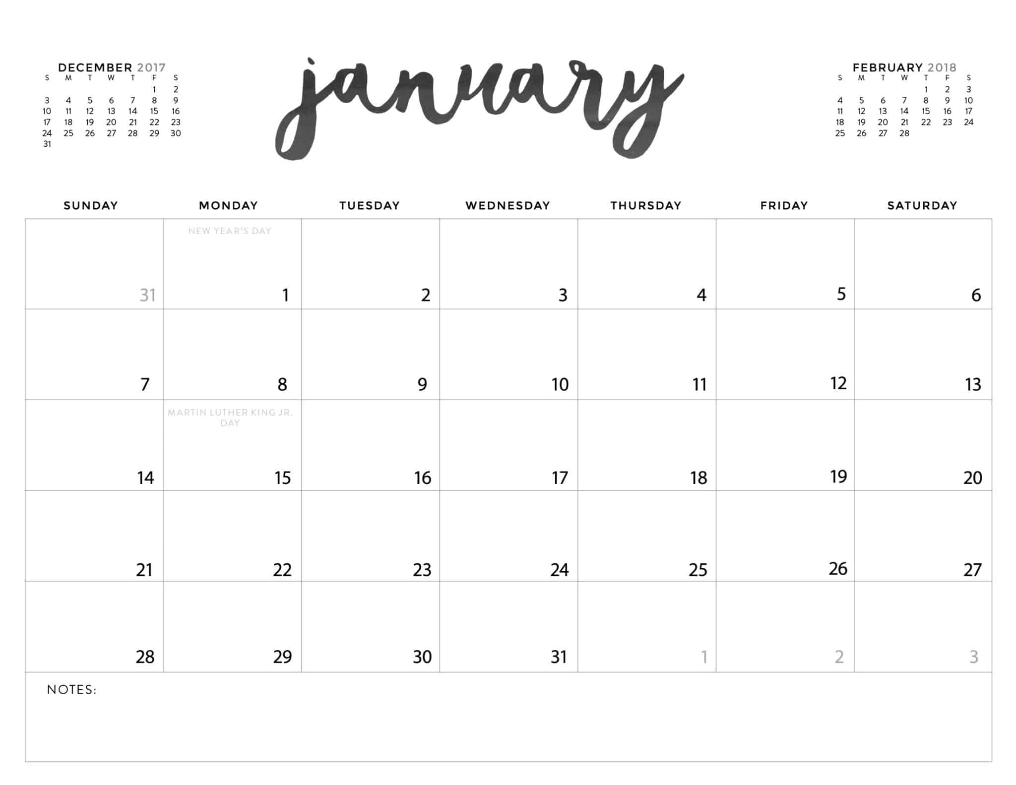 Download Your Free Printable Calendars Today There Are 28 Designs To Choose From In Both