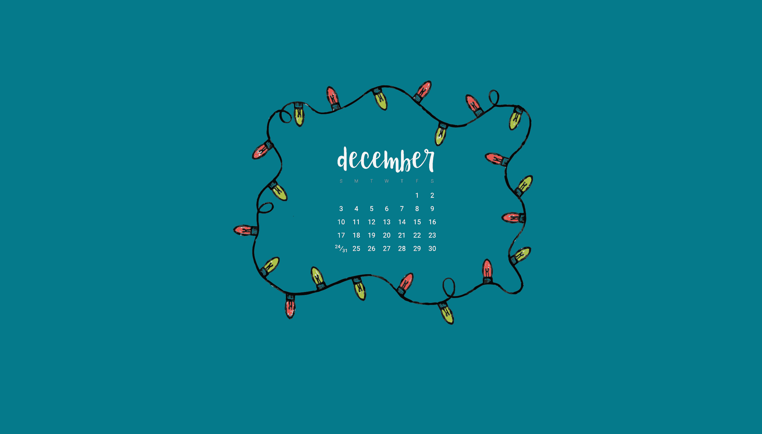 free december 2017 desktop and smart phone wallpapers