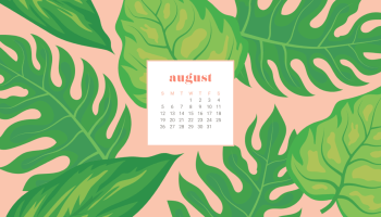 FREEBIES AUGUST DESKTOP CALENDAR WALLPAPERS