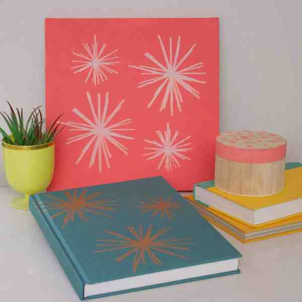 MODERN STENCILS BRING LIFE TO YOUR DECOR + A GIVEAWAY