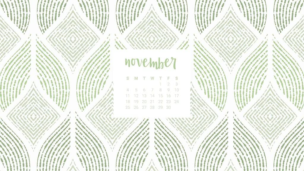 FREEBIES  //  NOVEMBER CALENDAR WALLPAPERS