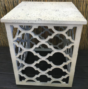 Ivory Off White Table Ella