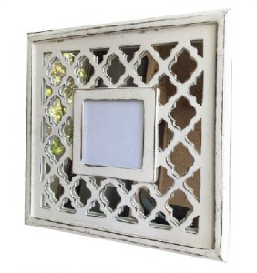 white mirrored frame - Mirrored Frame