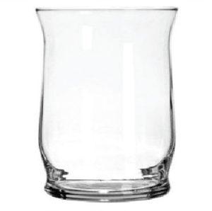 Decorative Glass Hurricane Shape Candleholder