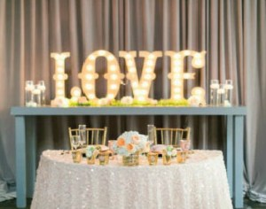 Love Marquee Lights Rental Letters Love Sign
